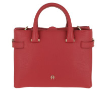 Tote Roma S Handle Bag Bright Red rot