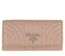 Portemonnaie Continental Wallet Leather Cipria rosa