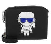 K/Space Two In One Crossbody Black Tasche