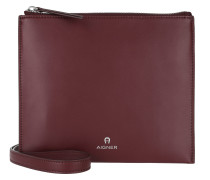 Mila Crossbody Bag Burgundy Tasche