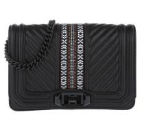 Jacquard Small Love Bag Black