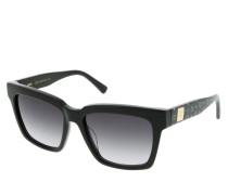 Sonnenbrille MCM646S Black/Black Visetos schwarz