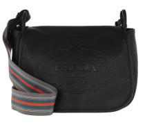 Crossbody Bag Leather Black Tasche