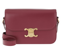 Umhängetasche Medium Triomphe Bag Shiny Calfskin Raspberry