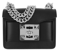 Gaia Chain Shoulder Bag Black