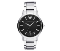 Uhr Watch Dress AR11181 Silver silber