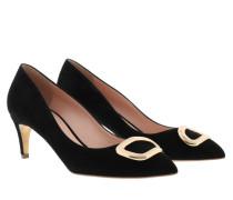 Pumps Nora Mid Heel Court Shoe Black