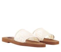 Sandalen Lace Side Sandals White/Beige