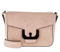 Umhängetasche Ambrine Suede Crossbody Bag New Pivoine rosa