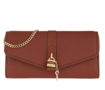 Umhängetasche Aby Wallet on Chain Sepia Brown