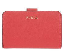 Babylon M Zip Around Wallet Coral