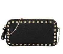 Rockstud Chain Bag Small Black Tasche