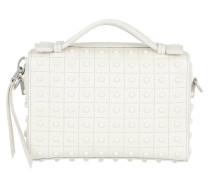 Diodon Gommini Micro Bag Leather White Tasche