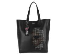 Yoni Alter Perforated Shopper Black