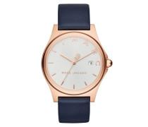 Uhr MJ1609 Henry Classic Watch Rosegold/White blau