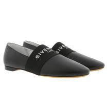 Paris Leather Slippers Black Schuhe
