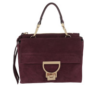 Arlettis Suede Crossbody Bag Grape Tasche