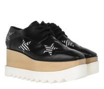 Elyse Platform Sneaker Black/White Sneakers
