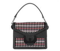 Satchel Bag Ambrine Wool Crossbody Bag Grape/Noir bunt