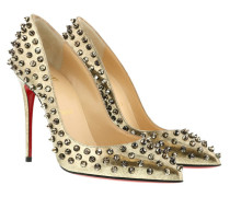 Pumps Follies Spikes 100 Pumps Platine gold