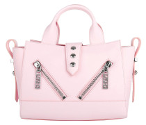 Nylon Mini Tote Faded Pink Bowling Bag
