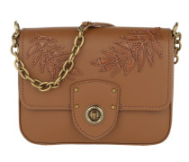 Millbrook Chain Crossbody Bag Small Field Brown Tasche