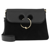 Large Pierce Bag Black Satchel