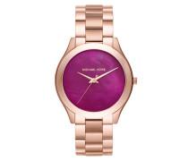Ladies Slim Runway Watch Rosegold Armbanduhr gold