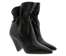 Boots Isabel Marant Ankle Boots Leather Black schwarz