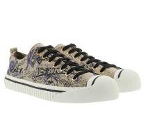 Doodle Print Sneakers Honey Sneakers