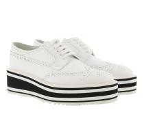 Calzature Donna Spazzolato Bianco Sneakers