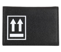 Portemonnaies Black Card Holder Black White schwarz