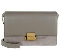 YSL Bellechasse Shoulder Bag Grey Tasche