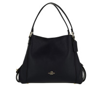 Hobo Bag Polished Leather Edie 31 Shoulder Bag Navy marine