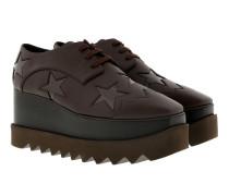 Elyse Platform Sneaker Brown Sneakers