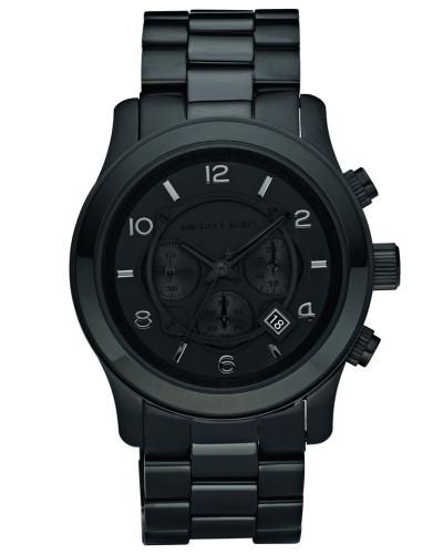 MK8157 Runway Chronograph Watch Blackout Uhr