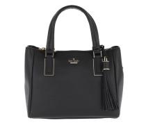 Kingston Drive Small Alena Black Satchel Bag