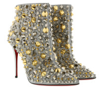 Boots So Full Kate Calf Glitter 100 Booties Silver silber