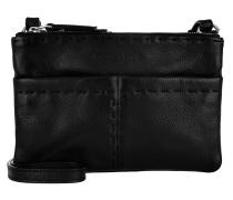 Heavy Stitch Umhängetasche Bag oil black