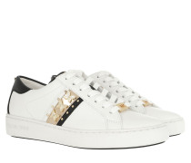Sneakers Keaton Stripe Sneaker Optic White/Pale Gold weiß