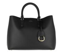 Marcy Satchel Large Black/Red Satchel Bag
