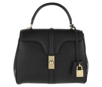 Satchel Bag 16 Bag Small Grained Leather Black schwarz