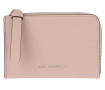 Portemonnaie Vektor Zip Card Holder Powder Pink