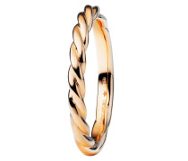 Ring Fantasia Twisted Rosegold