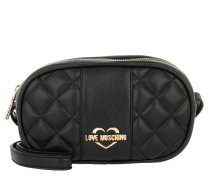 Quilted Nappa Crossbody Bag Nero Tasche