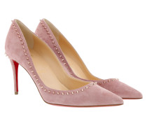 Anjalina Pumps Veau Velours Voile/Pink Bronze
