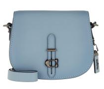 Umhängetasche Glovetan Leather Crossbody Bag Blue blau