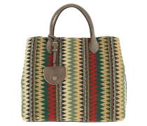 Jamila Etno Handle Bag Multicolour/Militaire Tote
