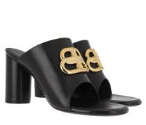 Sandalen BB Oval Sandals Leather Black