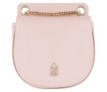 Leather Crossbody Bag1 Butterfly Rose Tasche
